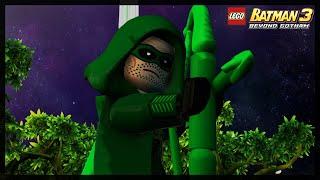 LEGO BATMAN 3 - ARROW FREE ROAM GAMEPLAY