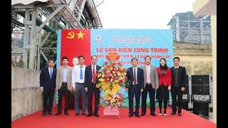 Công ty Nhiệt điện Uông Bí: Gắn biển công trình chào mừng kỷ niệm 10 năm thành lập thành phố Uông Bí