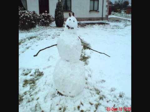Woman calls for help for Snowman.