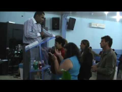Palavra Profética na Igreja do Evangelho Quadrangular em Colombo-PR- Pr.Eliseu Lustosa