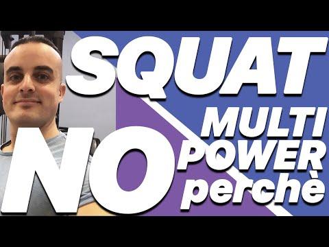 Squat al Multipower: perchè non farlo
