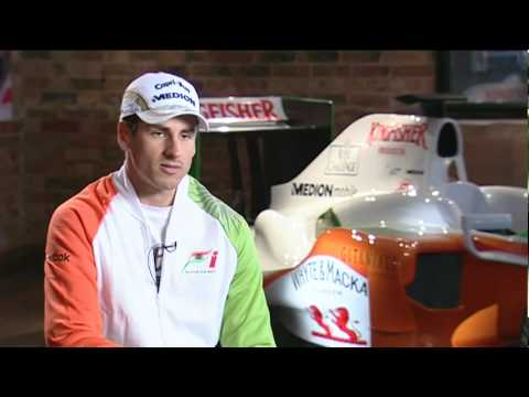 Adrian Sutil - lanzamiento de Force India VJM03