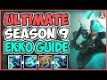 Download Lagu Maxske's Ekko | EVERYTHING EKKO MID ! ULTIMATE SEASON 9 EKKO GUIDE! Mp3 Free