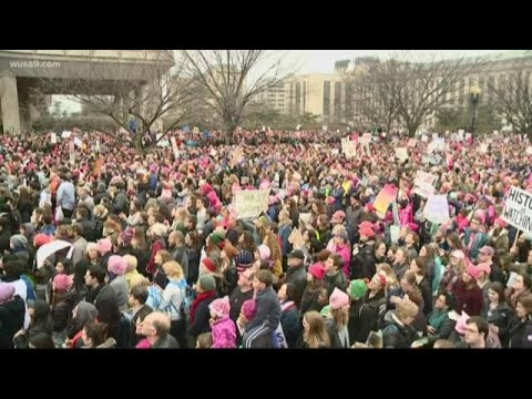 Snow flakes could fall on Women's March Saturday in DC