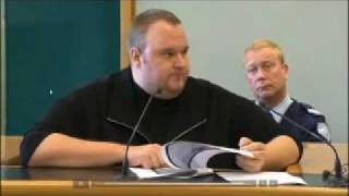 MEGAUPLOAD - Kim Dotcom proves judge wrong in court
