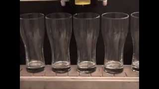 Laser Etching Inside Beer Glasses