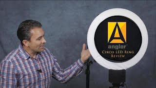 "Angler Circo 19"" LED Ring Light Review  Photographer Dustin Abbott reviews the Angler Circo (CI-LR20) LED Ring Light.  With 640 LEDs and a full range dimming dial, the Circo gives you both a great deal of nicely even light along with precise control over that light.  Is it what you have been looking for? Purchase the Angler Circo here: https://bhpho.to/2rNwzY3  My Patreon: https://www.patreon.com/dustinabbott  Zhiyun Crane - USA: https://bhpho.to/2gDJhnC   Check me out on:  Personal Website:  http://dustinabbott.net/   Sign up for my Newsletter: http://bit.ly/1RHvUNp   Google+: http://bit.ly/24PjMzv  Facebook:  http://on.fb.me/1nuUUeH   Twitter:  http://bit.ly/1RyYxIH   Flickr:  http://bit.ly/1UcnC0B   500px:  http://bit.ly/1Sy2Ngu Check me out on:  Personal Website:  http://dustinabbott.net/   Sign up for my Newsletter: http://bit.ly/1RHvUNp   Google+: http://bit.ly/24PjMzv  Facebook:  http://on.fb.me/1nuUUeH   Twitter:  http://bit.ly/1RyYxIH   Flickr:  http://bit.ly/1UcnC0B   500px:  http://bit.ly/1Sy2Ngu Keywords:  Angler, Circo, LED, Ring Light, Angler Circo Review, Ring Light Review, Dustin Abbott, CI-LR20, CL-LR20, Angler Ring Light Review, Angler Circo LED Ring Light, Review, Portrait, Catchlight, Beauty, Make-up, Control, Dial, Dimming, Photography, Video"