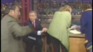 george bush is funny video BLOOPERS!