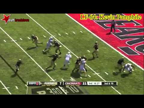 Kevin Pamphile vs Cincinnati 2013 video.