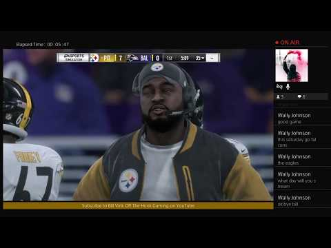 Madden 18 Live Best Of The Best Tournament Ep5 Steelers Vs Ravens