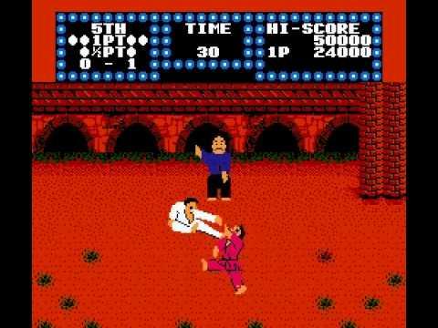 karate champ nes cheats