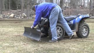 9. Polaris Sportsman 850 XP 2013 Snow Plow