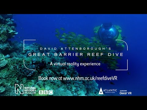 Watch the trailer for David Attenborough's Great Barrier Reef Dive