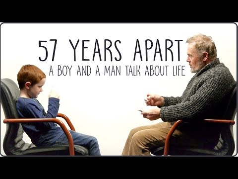 7 Years Apart A Boy And a Man Ask Each Other Questions About