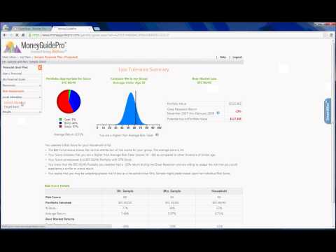 Financial Planning Software Walkthrough