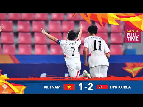 Vietnam 1 - 2 DPR Korea (AFC U23 Championship 2020...