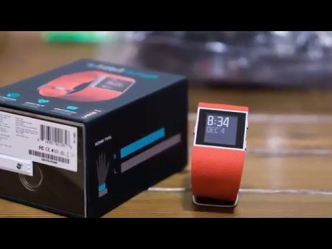 How I Unbox Fitbit Surge Tangerine
