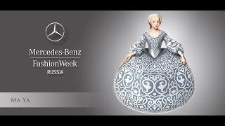 [HD] Mercedes-Benz Fashion Week Russia Fall/WInter 14/15: Ma Ya