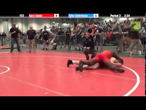 Men 152 – Gary Eakin vs. Tyler Selemaea