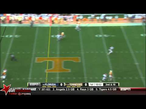 Marcus Roberson vs Texas A&M GeorgiaTennessee 2012 video.