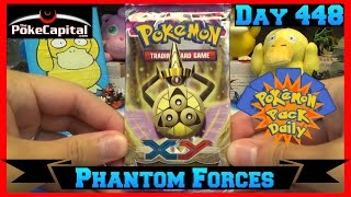 Pokemon Pack Daily XY Phantom Forces Booster Opening Day 448 - Featuring ThePokeCapital by ThePokeCapital