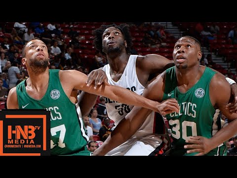 Boston Celtics vs Portland Trail Blazers Full Game Highlights / July 15 / 2018 NBA Summer League