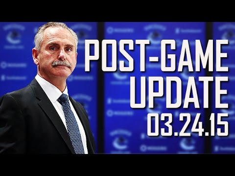 Willie Desjardins on Victory Over Winnipeg (Mar. 24, 2015)