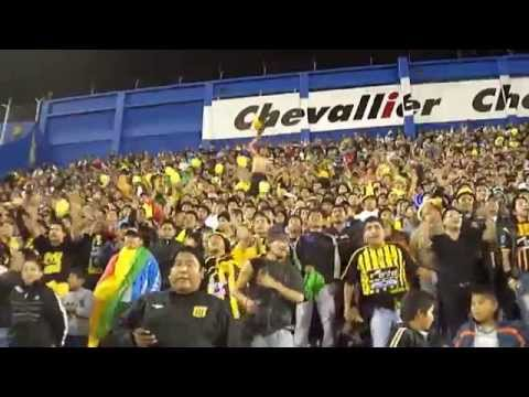 Hinchada de The Strongest en Buenos Aires - La Gloriosa Ultra Sur 34 - The Strongest