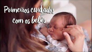 Primeiros cuidados com o bebê