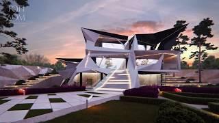 Известный  писатель и эзотерик  Князь Ростовский презентовал проект своего нового дома