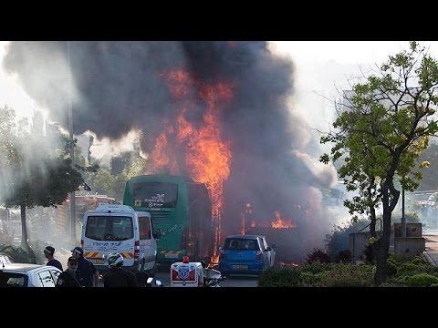 Προβληματισμένοι οι κάτοικοι της Ιερουσαλήμ μετά την επίθεση σε λεωφορείο