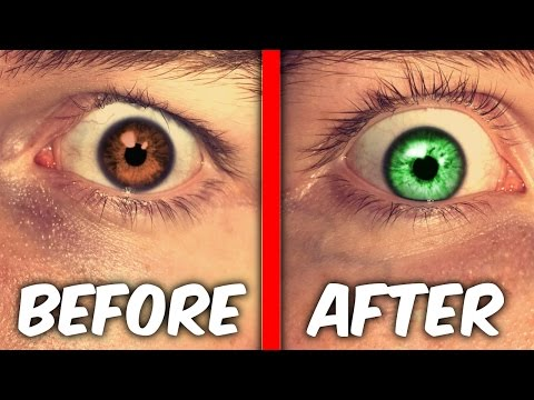 MAKE YOUR EYES CHANGE COLOR TRICK! ( WTF It Actually Works ) (видео)