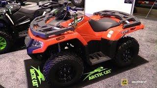 10. 2016 Arctic Cat Alterra 450 Utility ATV - Walkaround - 2015 AIMEXPO Orlando