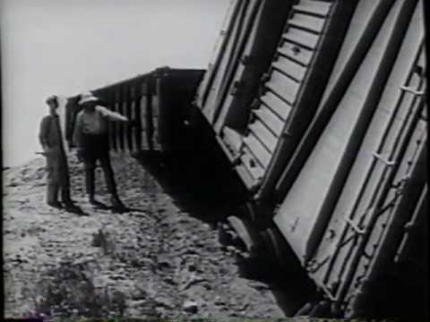 railroad - This is a fantastic old steam era safety film concerning working around railroad yards and tracks -- heavy on switching operations. Produced by the Great Nor...