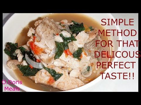 Delicious and tastiest Croaker Fish Pepper Soup /O.Doris Healthy Meals