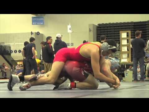 162 lbs round 3 Francisco Colom vs Dale White