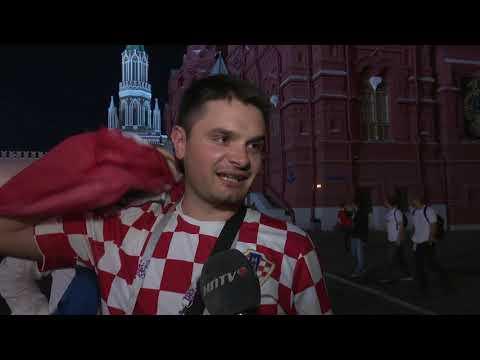 Hrvatski navijači u Moskvi slave plasman u finale SP