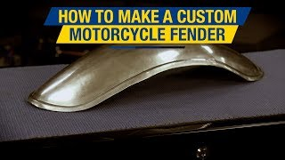 In this video Matt explains in detail how to build a custom motorcycle fender from start to finish. Panel Beater Bag: http://www.eastwood.com/eastwood-panelbeater-sandbag-and-teardrop-mallet.html#utm_source=youtube&utm_medium=annotation&utm_campaign=2017-07-06&utm_content=Panel%20Beater%20BagEnglish Wheel: http://www.eastwood.com/benchtop-english-wheel.html#utm_source=youtube&utm_medium=annotation&utm_campaign=2017-07-06&utm_content=English%20WheelShrinker Stretcher: http://www.eastwood.com/eastwood-extra-large-capacity-shrinker-stretcher-and-foot-operated-stand.html#utm_source=youtube&utm_medium=annotation&utm_campaign=2017-07-06&utm_content=shrinker%20StretcherMore Metal Shaping Tools: http://www.eastwood.com/metal-fabrication.html#utm_source=youtube&utm_medium=annotation&utm_campaign=2017-07-06&utm_content=Metal%20Fab%20ToolsFor more information on Eastwood products visit www.eastwood.com or stay connected with the team via:Facebook - https://www.facebook.com/eastwoodcompany Instagram - http://instagram.com/eastwoodco Blog - http://www.eastwood.com/blog Eastwood has everything you need to do the job right when you're restoring a car, truck or motorcycle - from welders to paint and everything in between.