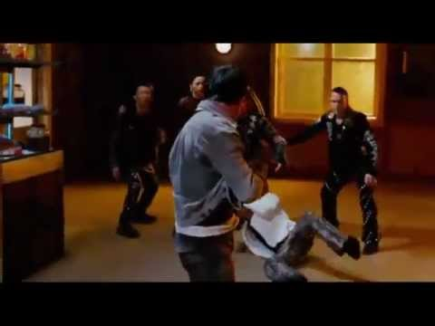 Tony Jaa The Protector - Stairs fight (Tom Yum Goong)