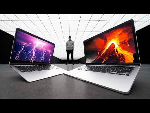 Unboxing The 2020 M1 MacBook Air vs MacBook Pro