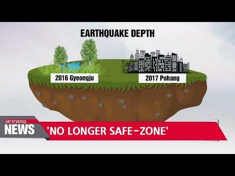 S. Korea no longer 'earthquake-safe' zone... two magnitude 5.0+ quakes in two consecutive years