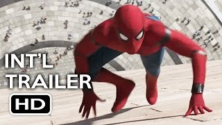 spiderman homecoming official international trailer 1 2017 tom holland movie hd