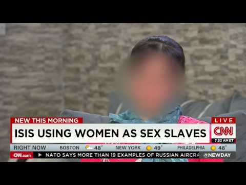 raped - CNN Interviews Yazidi Girl Kidnapped and Raped by Islamic State Terrorists (October 30, 2014)