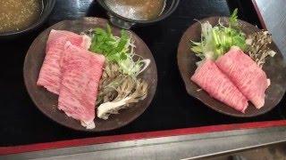 Shirako-machi Japan  city pictures gallery : Japanese Cuisine Served In An Onsen Ryokan - Joshu Beef, Udo, And Konnyaku【Bettei Senjuan】