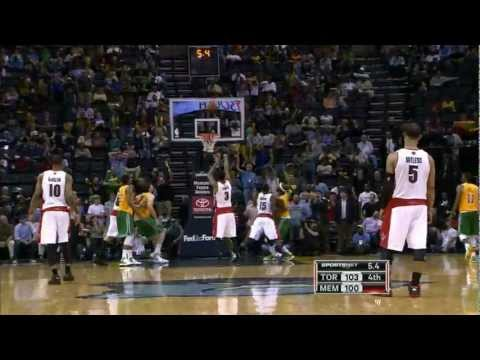 Rudy Gay's 3-Pointer Forces OT vs. Grizzlies