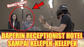 Video PRANK DUA RECEPTIONIST HOTEL CANTIK SEKALIGUS !! SAMPE KELEPEK KELEPEK MP3, 3GP, MP4, WEBM, AVI, FLV September 2019