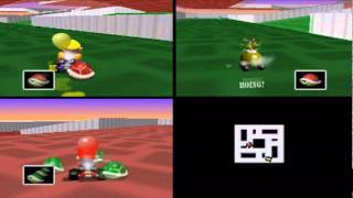 Mario Kart 64 - Balloon Battle & VS Race