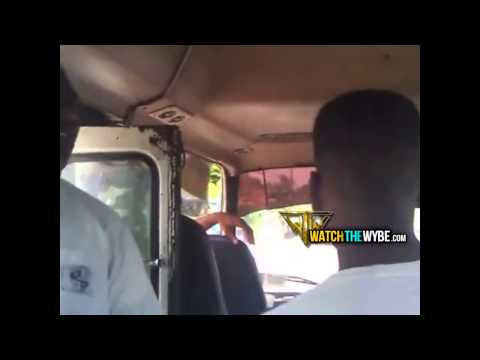 Unruly Teens Too Much for Bus Driver to Handle (Bahamas)