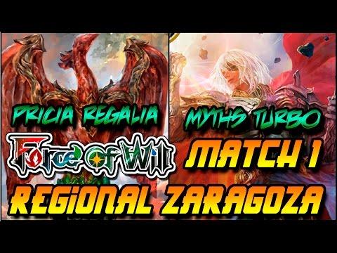 Force of Will  Zaragoza Regional GP Ronda 4 Game 1