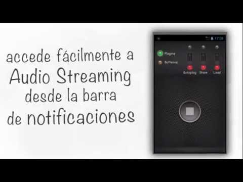 Video of Audio Streaming